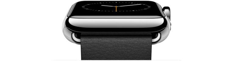 apple watch flat banner