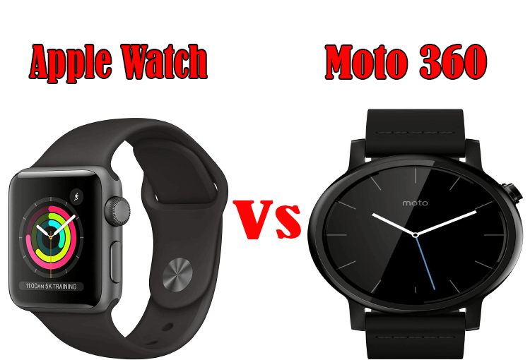 Apple Watch Versus Moto 360