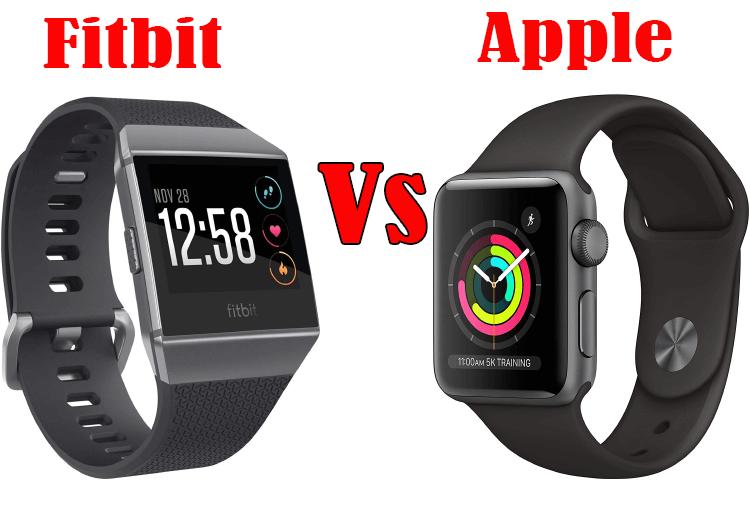 fitbit vs apple watch