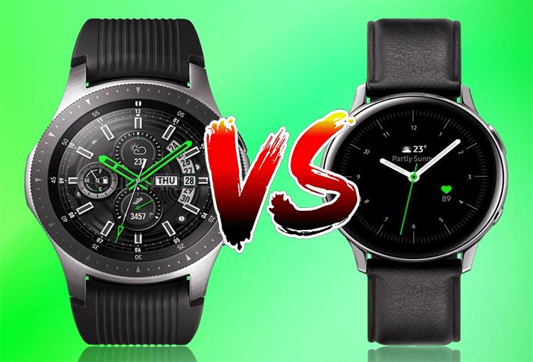 Galaxy Watch Active 2 vs Galaxy Watch