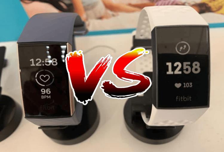 Garmin Vivosmart 4 vs Fitbit Charge 3