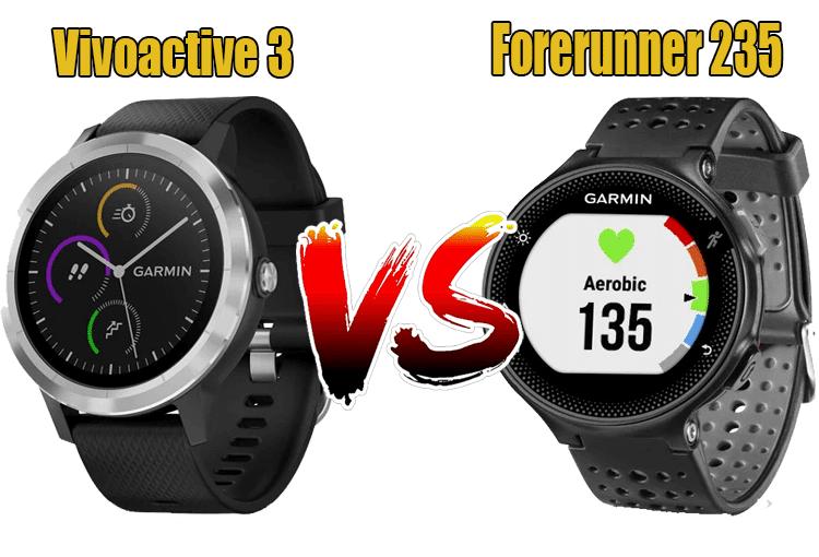 Vivoactive 3 vs Forerunner 235
