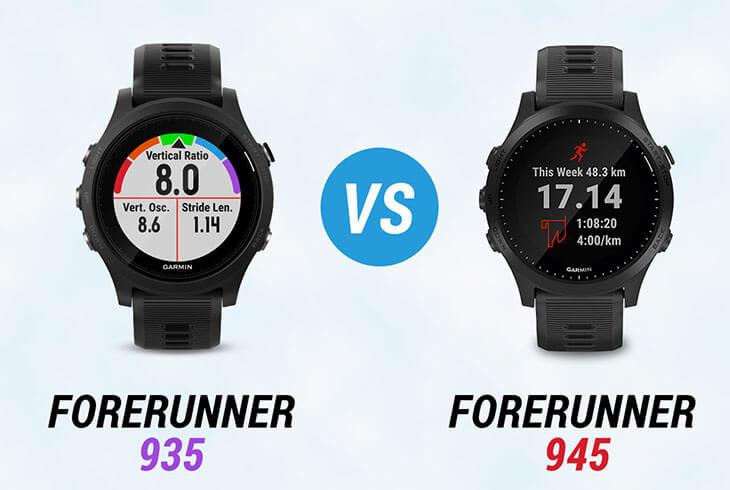 Forerunner 935 vs 945