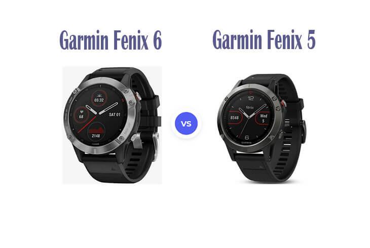 Garmin Fenix 5 vs 6