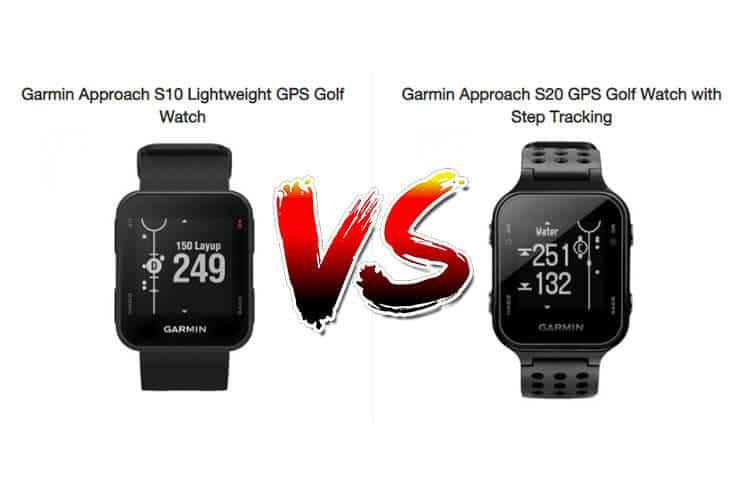 garmin approach s10 vs s20